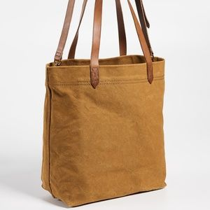 madewell medium canvas tote Acorn handbag rare